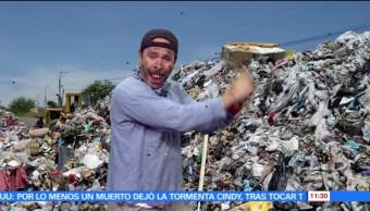 40 mil trabajadores, capacitados, separación de basura, residuos