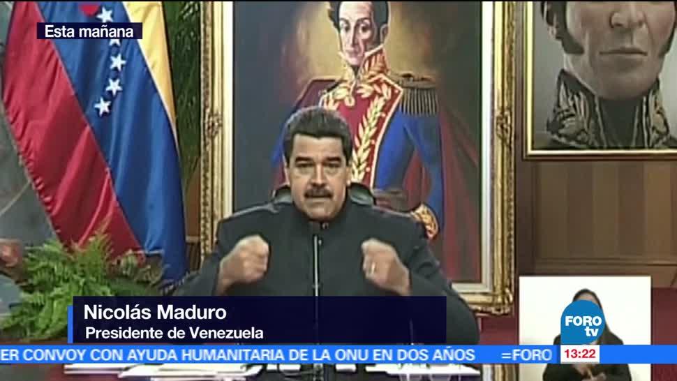 noticias, forotv, Maduro, condena, acciones, OEA
