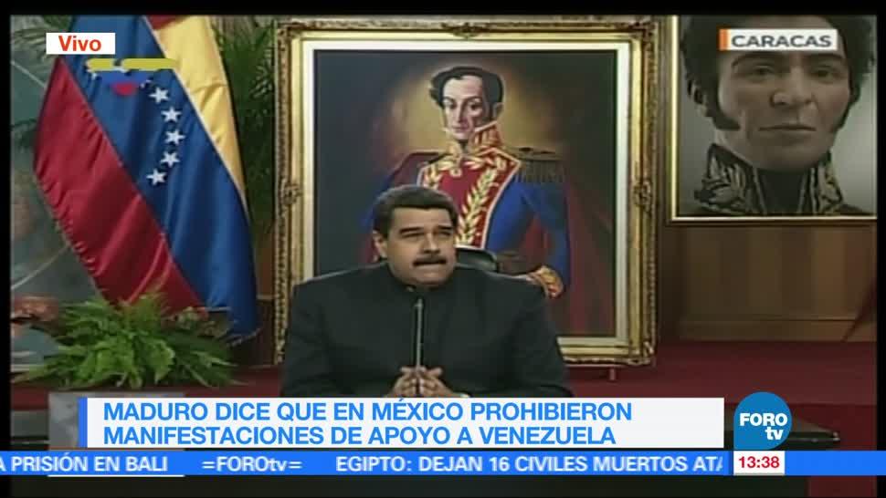 noticias, forotv, Maduro, critica, México, asamblea de la OEA