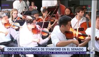 Orquesta de Stanford, presenta, Senado de México