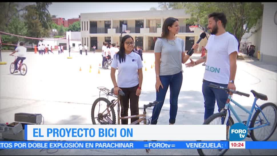 proyecto, Bici On, Ximena Cervantes, Fundación Christel House