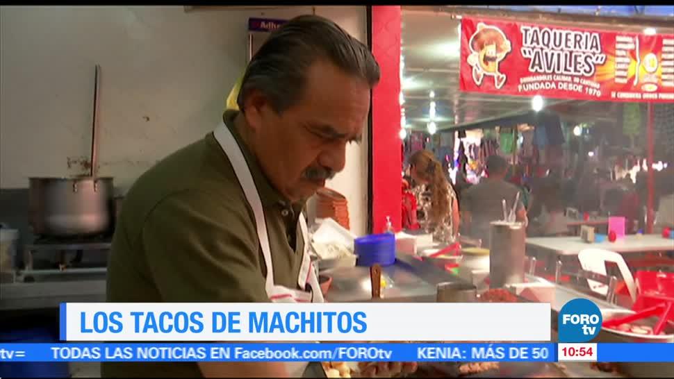 Viernes culinario, tacos de machitos, Enrique Muñoz