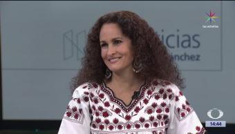 noticias, forotv, Susana Harp, La música salva vidas, música tradicional, niños indígenas