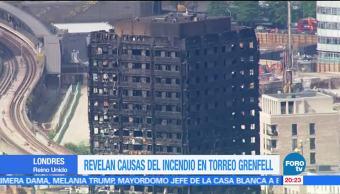 noticias, forotv, Incendio, Torre Grenfell, Londres, congelador