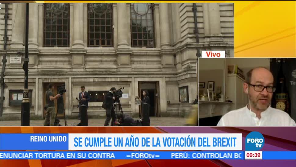 cumple un año, votación, Brexit, Vytas Rudavicius