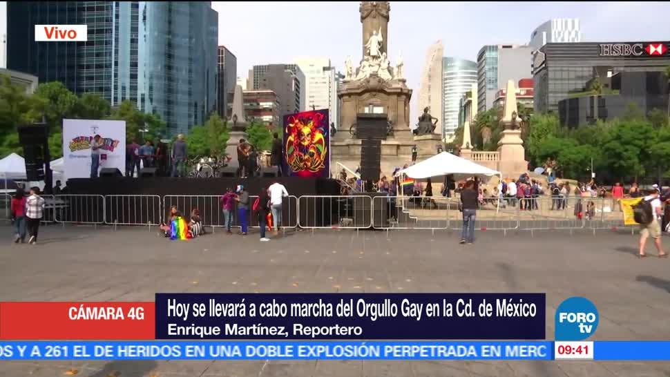 Inician, preparativos, Marcha del Orgullo Gay, CDMX