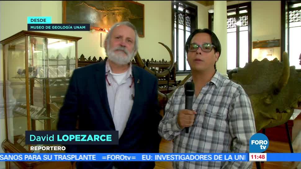 Patrimonio, Museo de Geología, UNAM, Luis Espinosa