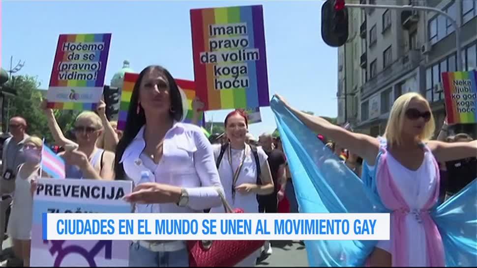 Marcha, orgullo LGBTTI, varios países