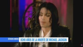 cumplen ocho años, muerte, Michael Jackson