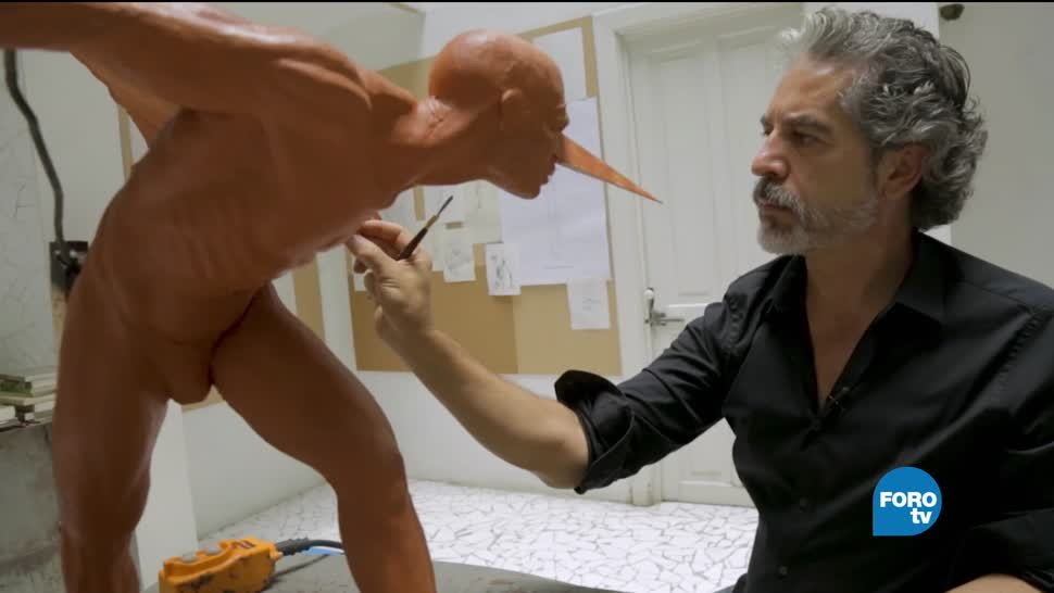 Perfil, semblanza, Escultor, Bronce, Jorge Marín, esculturas de bronce