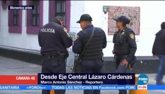 Autoridades, investigan, agresión, extranjero CDMX, eje cental, cdmx