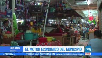 mercado, Juchitán, principal, motor económico, economía, Oaxaca