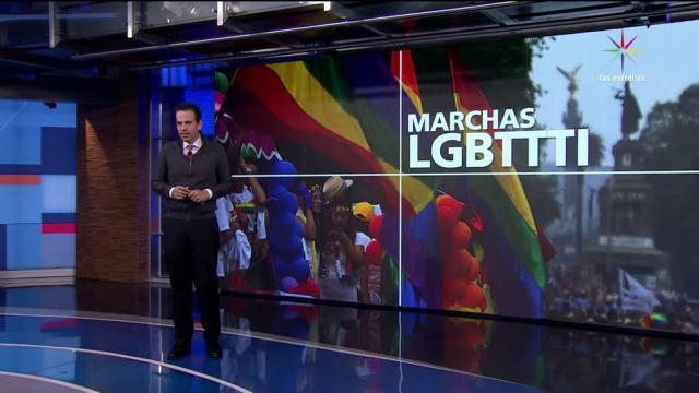 Miles de personas, CDMX, mundo, orgullo LGBTTTI
