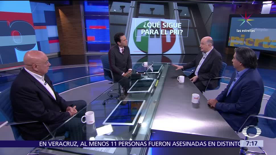 Roy Campos, Gerardo Esquivel, Rubén Aguilar, panorama político, 2018