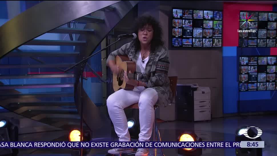 cantante Rosana, estudio, Al Aire, material discográfico