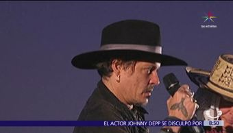 actor Johnny Depp, broma, presidente Donald Trump, chiste