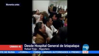 Enfermeras, recursos, mejor servicio, Hospital General, Iztapalapa