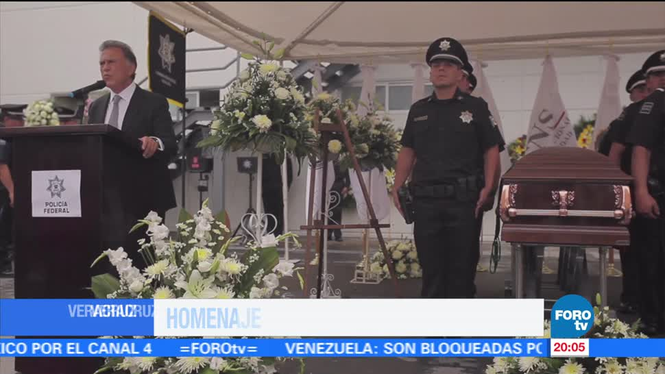 noticias, forotv, Homenaje, policías federales, asesinados, Veracruz