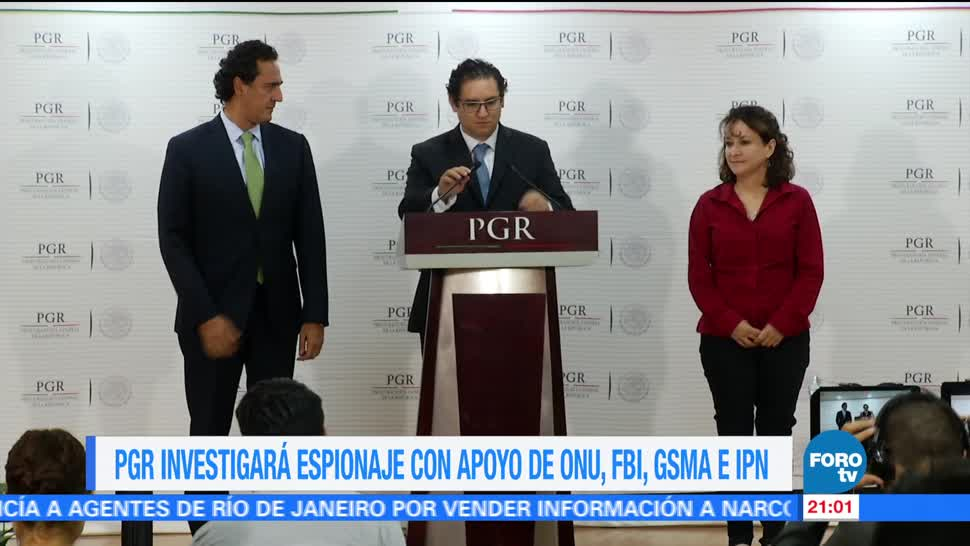 noticias, forotv, PGR, investigará espionaje, ONU, FBI