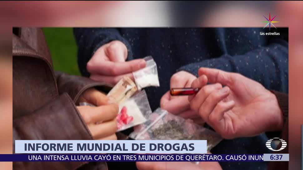 Antonio Mazzitelli, ONU, Droga y el Delito, México, cultivos de amapola