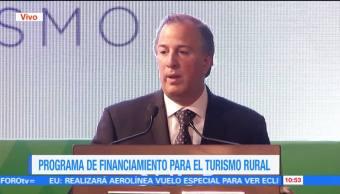 secretario de Hacienda, José Antonio Meade, actividades no agropecuarias, medios rurales