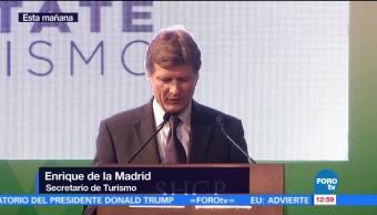 secretario de Turismo, Enrique de la Madrid, turismo, economía, comunidades