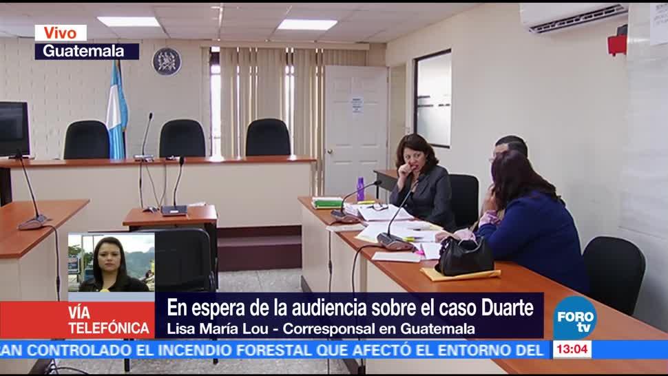 Javier Duarte, exgobernador, Veracruz, comparecencia
