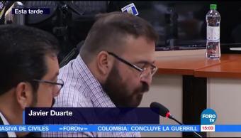 Javier Duarte, acepta extradición, niega acusaciones, ex gobernador