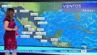 Tiempo al tiempo, Raquel Méndez, el clima, tormentas fuertes