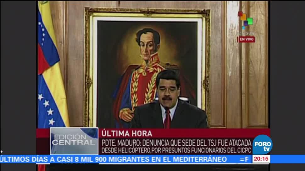 noticias, foroyv, Maduro, capturará a responsables, hecho terrorista, Supremo