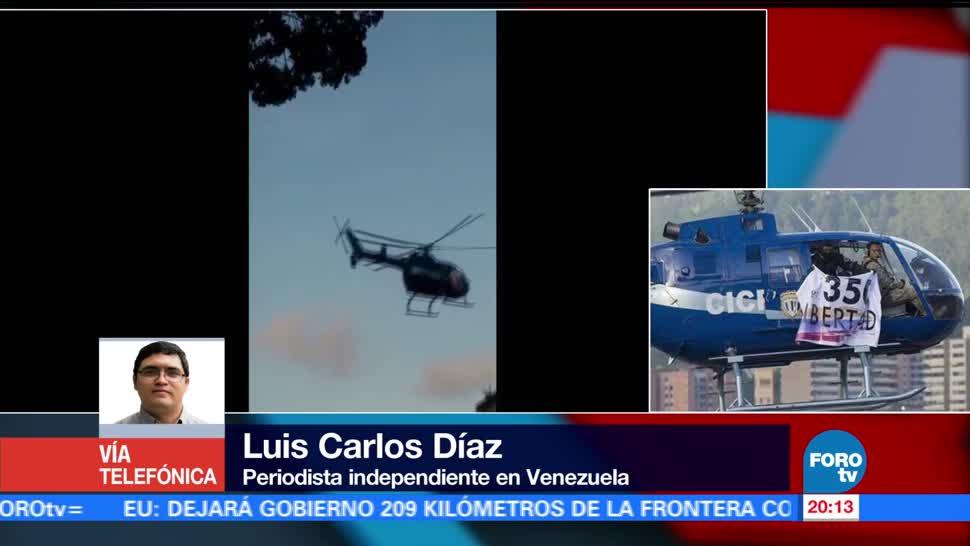 noticias, forotv, Sobrevuelo, Supremo de Venezuela,planificado, gobierno