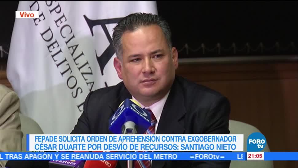 noticias, forotv, Fepade, investiga, exfuncionarios de Chihuahua, desvío de recursos