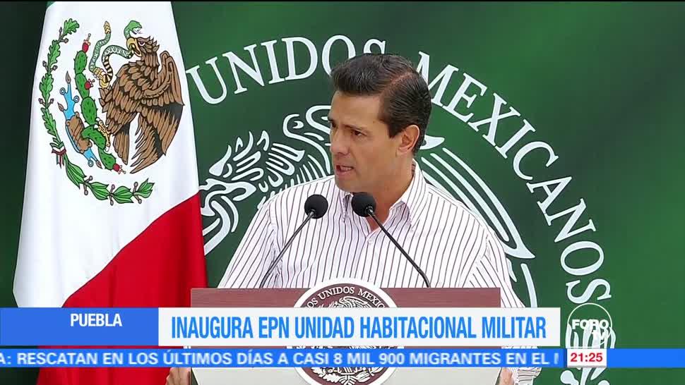 noticias, forotv, EPN, reconoce, Fuerzas Armadas, México