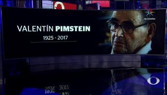 noticias, televisa, Muere, Valentín Pimstein, Padre de la Novela Rosa, televisión