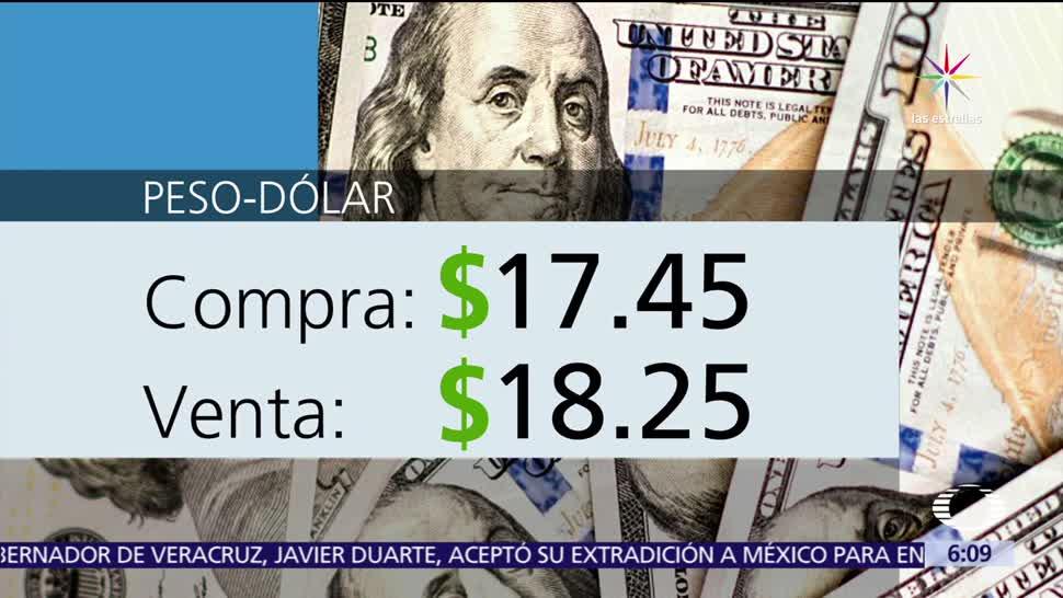 Dólar, vende, estadounidense, cotiza