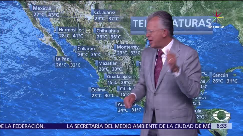 Despierta con Tiempo, Ambiente caluroso, noroeste de México