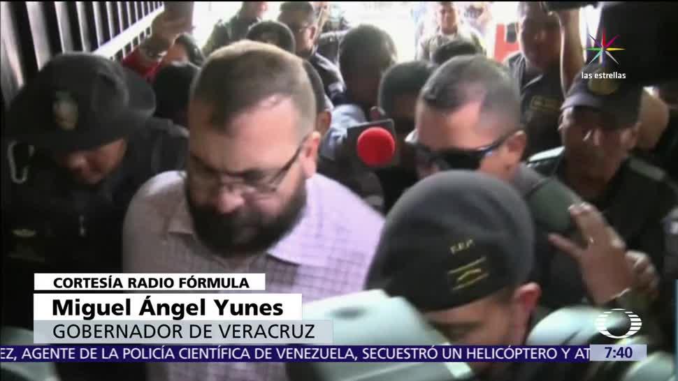 Miguel Ángel Yunes, gobernador de Veracruz, Javier Duarte, cárcel
