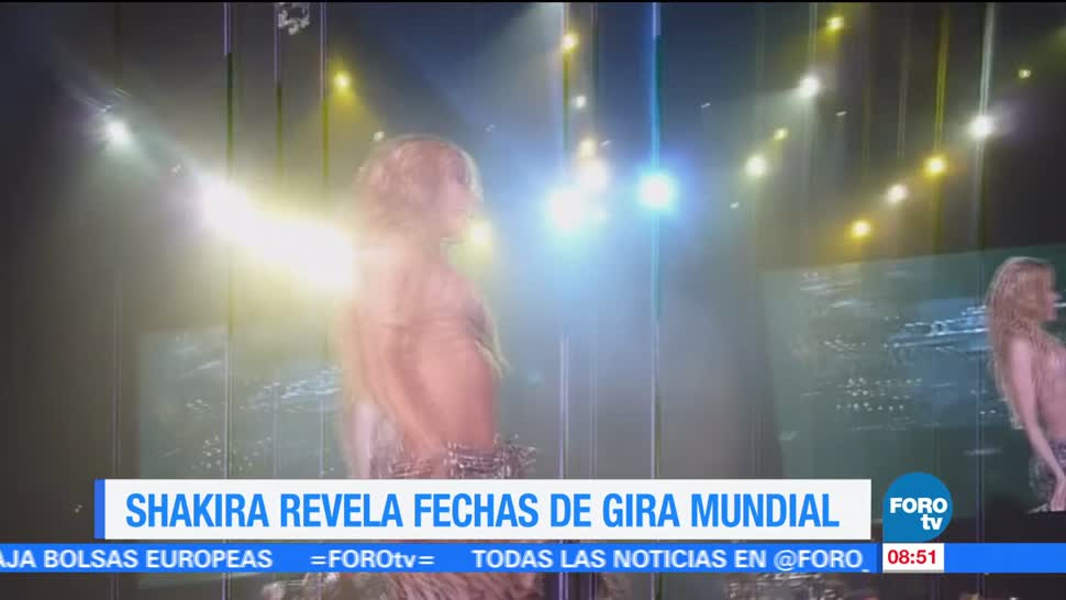 LoEspectaculardeME, Shakira, gira mundial, El Dorado World Tour