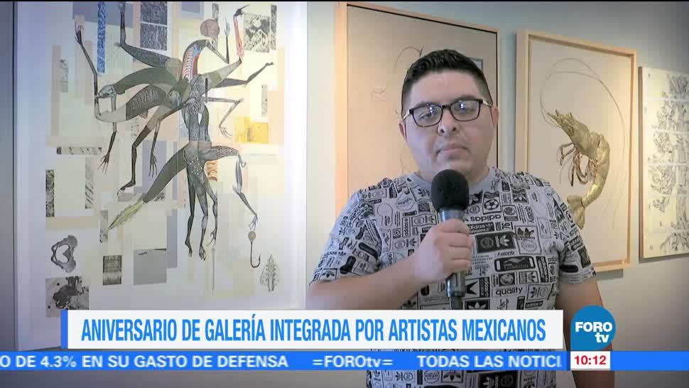 Sofía Escobosa, Galería Óscar Román, Aniversario 26