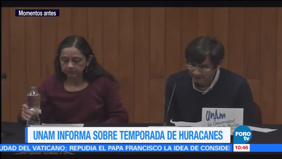UNAM, huracanes, México, temporada 2017