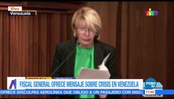 fiscal general de Venezuela, Luisa Ortega Díaz, crisis, país sudamericano, Venezuela