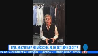 ex Beatle Paul Mccartney, México, gira mundial, One on One Tour