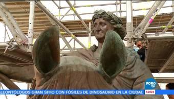 escultura, escultura ecuestre de Carlos IV, El Caballito, INAH