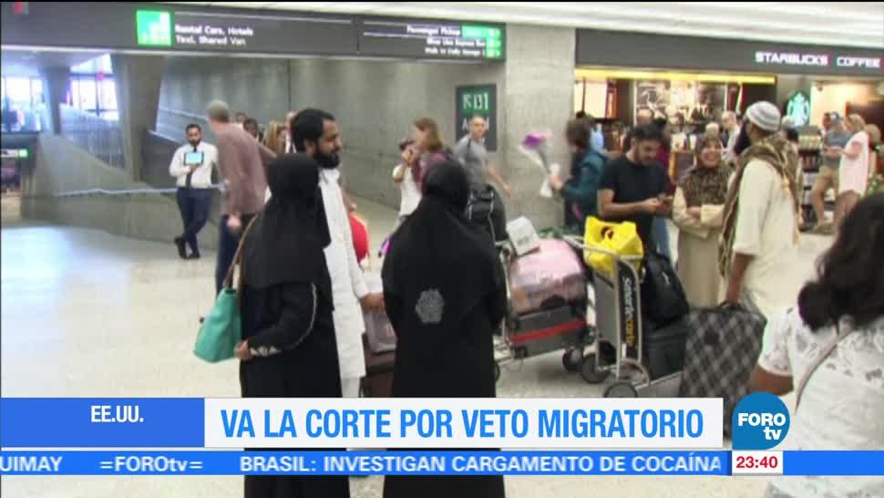 Estados Unidos, Corte Suprema, Donald Trump, decreto migratorio