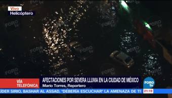 noticias, forotv, Nueve calles, Marina Nacional, encuentran, inundadas