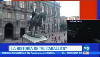 noticias, forotv, Historia, El Caballito, Carlos IV, restauración