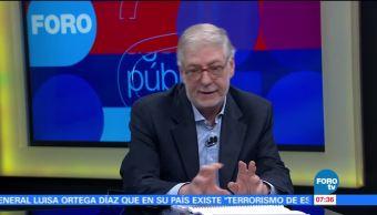 Guillermo Valdés, Percepción, política, economía y seguridad pública