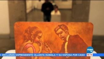 Exposición, El trabajo diario, maestro, Armando Ramírez