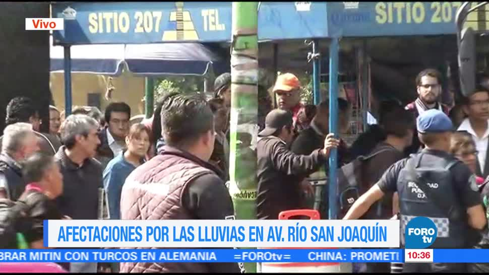 normaliza, circulación, vehicular, Río San Joaquín