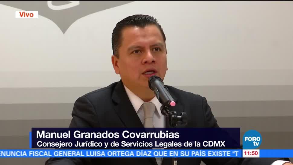 Manuel Granados Covarrubias, consejero jurídico, Servicios Legales, CDMX, Línea 7, Metrobús